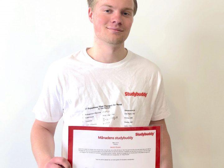 Grattis till Jacob Rosén från Sollentuna – månadens studiecoach!