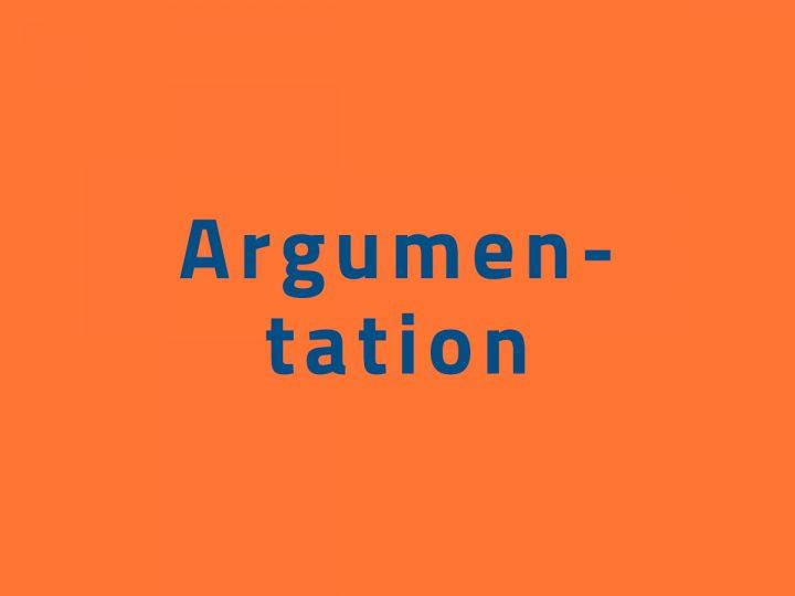 Argumentationsmisstag